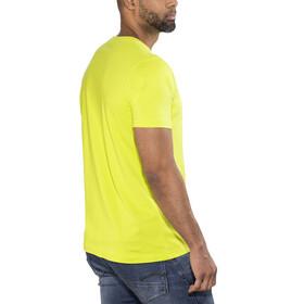 Meru Sete - T-shirt manches courtes Homme - jaune